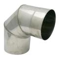 Kolano stałe 90° żaroodporne SPIROFLEX Ø 120mm gr.1,0mm