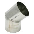 Kolano stałe 45° żaroodporne SPIROFLEX Ø 130mm gr.1,0mm
