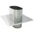 Płyta dachowa żaroodporna owalna SPIROFLEX 120x215mm gr.1,0mm