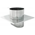 Płyta dachowa żaroodporna okrągła SPIROFLEX 115x170mm gr.1,0mm