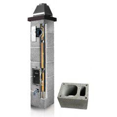 System Kominowy Ceramiczny PLEWA Osmo Las Ø 120mm z wentylacją