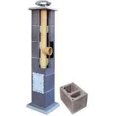 System Kominowy Ceramiczny LEIER Basic Ø 200mm z wentylacją
