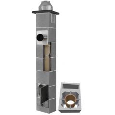 System Kominowy Ceramiczny  JAWAR K Ø 120mm z wentylacją