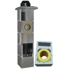 System Kominowy Ceramiczny  JAWAR Uniwersal Plus Ø 160mm z wentylacją rura izostatyczna