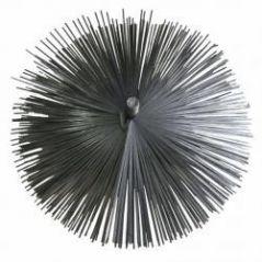 Szczotka kominowa fi 250mm wycior z blaszki
