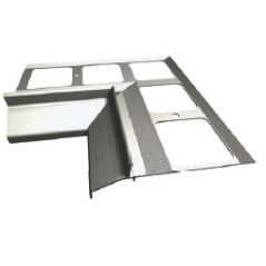ATLAS narożnik wewnętrzny 90° system 100, balkonowo-tarasowy (1 szt.)