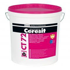 """Tynk silikatowy Ceresit CT 72, struktura """"kamyczkowa"""", granulacja 2.5mm, 25kg"""