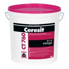 """VISAGE tynk ozdobny """"beton architektoniczny"""" CT 760, 20 kg"""