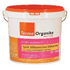 TERMO ORGANIKA tynk silikonowo-silikatowy TO-TSISIm do aplikacji mechanicznej, 29 kg
