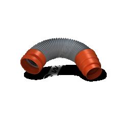 Rura przyłączeniowa RUROFLEX PLUS z redukcją Ø 125mm dł.60cm