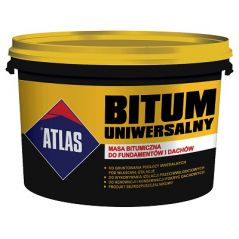 ATLAS masa bitumiczna do fundamentów i dachów, 20 kg