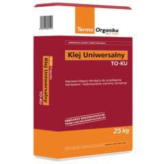 Klej uniwersalny do styropianu i siatki Termo Organika TO KU 25kg