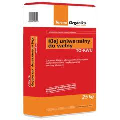 Klej uniwersalny do wełny i siatki Termo Organika TO KU, 25kg