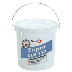 SOPRO DBE 500 klej epoksydowy Składnik A + B, 5 kg