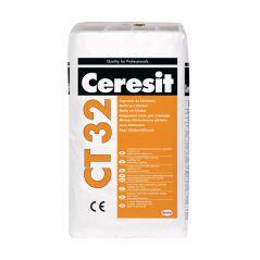 CERESIT zaprawa do murowania i spoinowania do klinkieru CT 32 - grafit, 25 kg