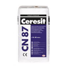 CERESIT CN 87 posadzka cementowa szybko twardniejąca 10-80 mm, 25 kg