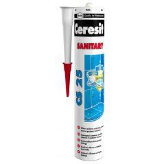 CERESIT silikon sanitarny odpowiadającym kolorom spoin Ceresit 330 ml