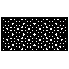 Panel ogrodzeniowy Magic Dots