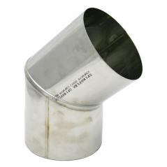 Kolano stałe 45° kwasoodporne SPIROFLEX Ø  80mm
