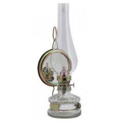 LAMPA NAFTOWA XL Z LUSTREM 20CM/8