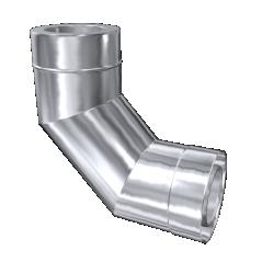 Kolano 90° izolowane MKD Premium MK ŻARY Ø 130mm