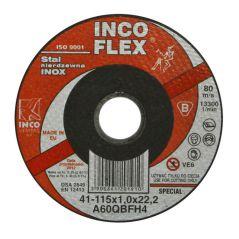 TARCZA PŁASKA INOX T1A 115*1.0*22