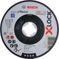 TARCZA SZLIFIERSKA X-LOCK EXPERT FOR METAL 125*1.6*22.23