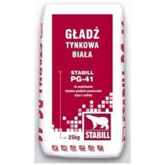 STABIL GŁADŹ GIPSOWA BIAŁA PG-41 20KG