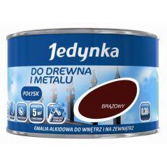 EMALIA ALKIDOWA DO DREWNA I METALU CZARNY MAT 0,36L