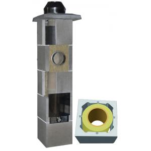System Kominowy Ceramiczny  JAWAR Uniwersal Plus Ø 200mm rura izostatyczna