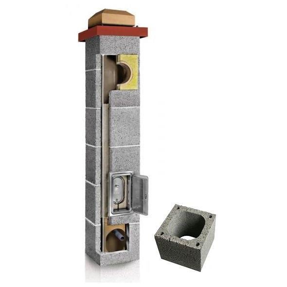 System Kominowy Ceramiczny PLEWA Uni Fu 160x160mm
