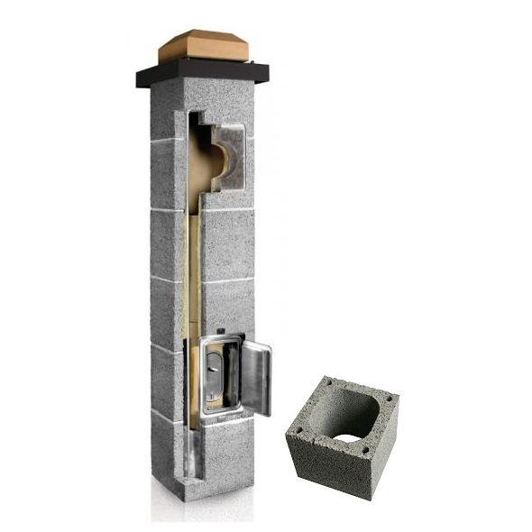 System Kominowy Ceramiczny PLEWA Uni Fe 160x160mm