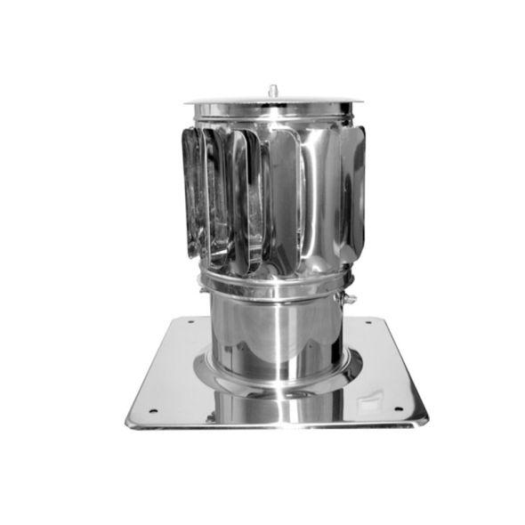 Nasada Turbomax 2 Ø 120mm z podstawą kwadratową