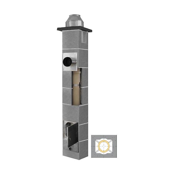 System Kominowy Ceramiczny  JAWAR K Ø  80mm