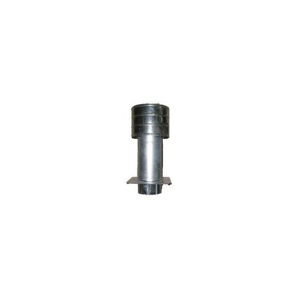 Deflektor ocynkowany z płytą 130mm