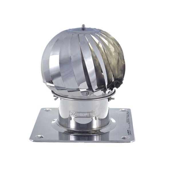 Nasada Turbomax 1 Ø 200mm z podstawą kwadratową