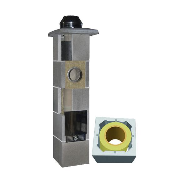 System Kominowy Ceramiczny  JAWAR Uniwersal Plus Ø 180mm rura izostatyczna