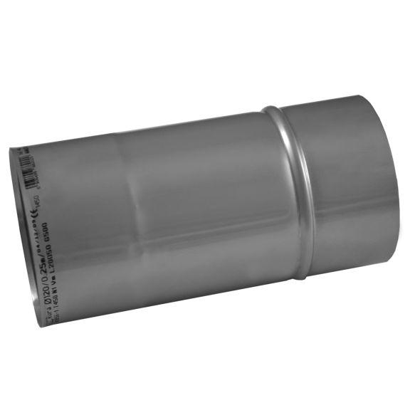 Rura prosta KOMINUS KZS Ø 160mm 0,25mb gr.0,8mm
