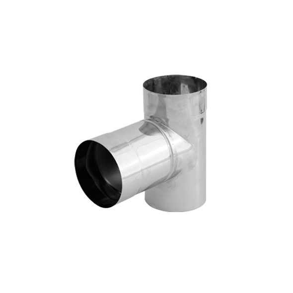Trójnik 90° kwasoodporny SPIROFLEX Ø 160mm