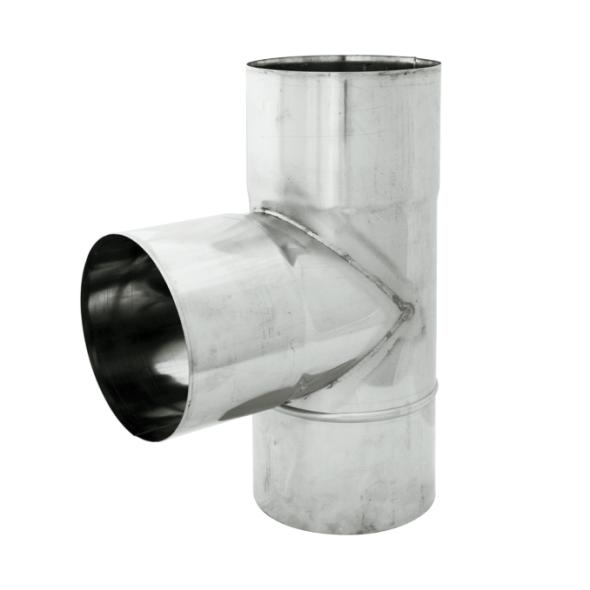 Trójnik 90° żaroodporny SPIROFLEX Ø 160mm gr.1,0mm