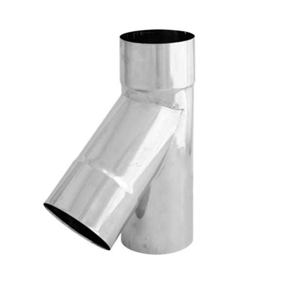 Trójnik 45° żaroodporny SPIROFLEX Ø 200mm gr.1,0mm