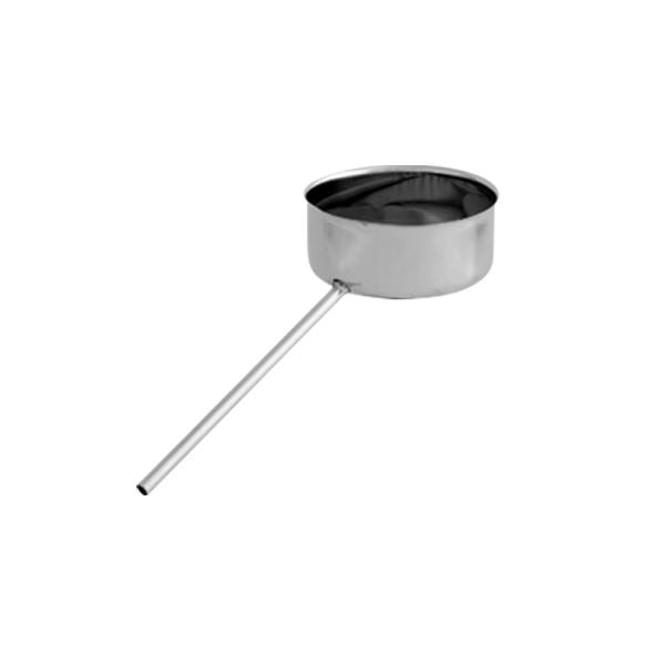 Odskraplacz żaroodporny SPIROFLEX Ø 120mm gr.1,0mm