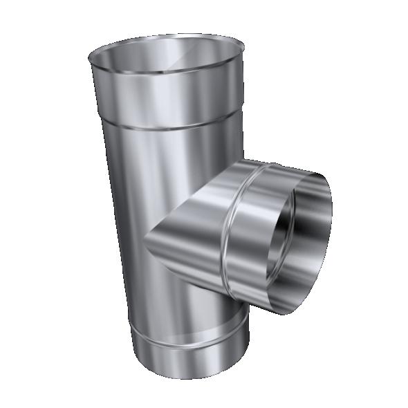 Trójnik 90° żaroodporny MKSZ Invest MK ŻARY Ø 130mm gr.0,8mm