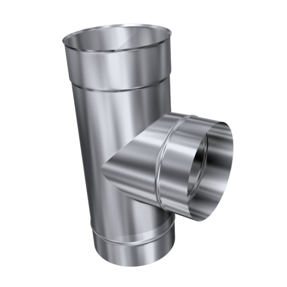 Trójnik 90° żaroodporny MKSZ Invest MK ŻARY Ø 160mm gr.0,8mm
