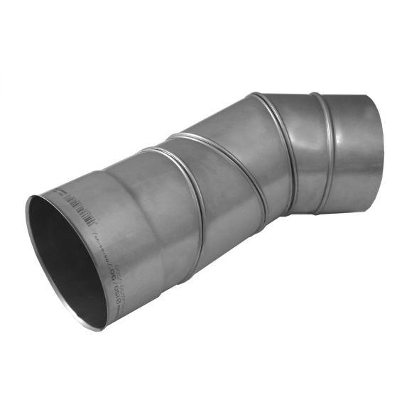 Kolano regulowane 0°-90° KOMINUS KZS Ø 130mm gr.0,8mm
