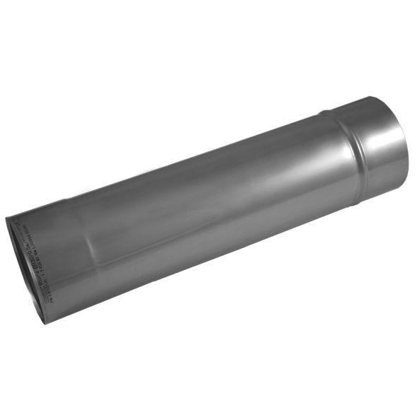 Rura prosta KOMINUS KZS Ø 130mm 0,5mb gr.0,8mm