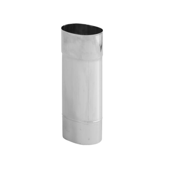 Rura żaroodporna owalna SPIROFLEX 120x215mm 0,5mb gr.0,8mm