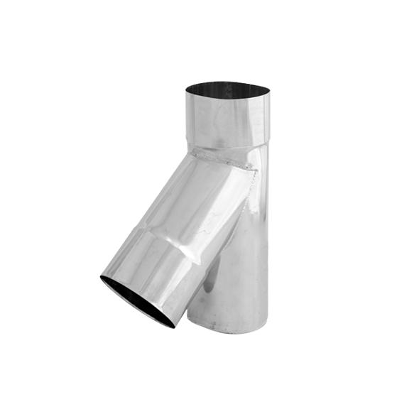 Trójnik 45° żaroodporny owalny SPIROFLEX 120x215mm gr.0,8mm