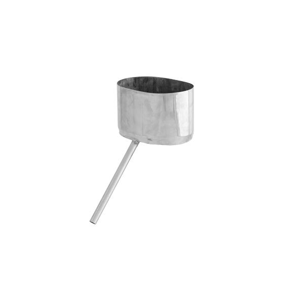 Odskraplacz żaroodporny owalny SPIROFLEX 115x170mm gr.1,0mm