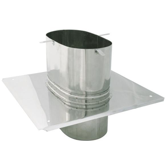 Płyta dachowa żaroodporna owalna SPIROFLEX 130x240mm gr.0,8mm